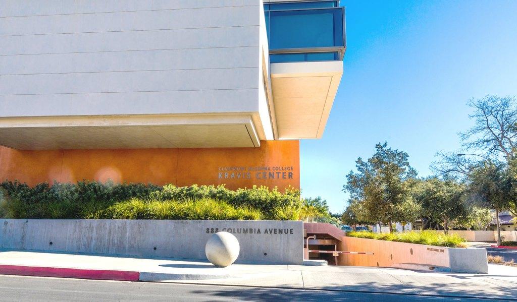 Building Industries served by MiTek - The exterior of Claremont McKenna College Kravis Center