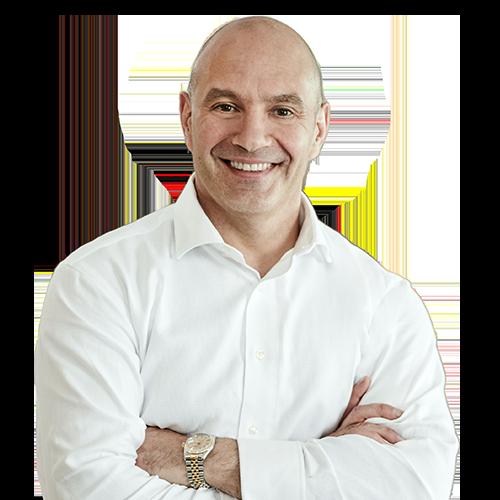 MiTek Headshot of Tom Valvo - President, Homebuilding Solutions