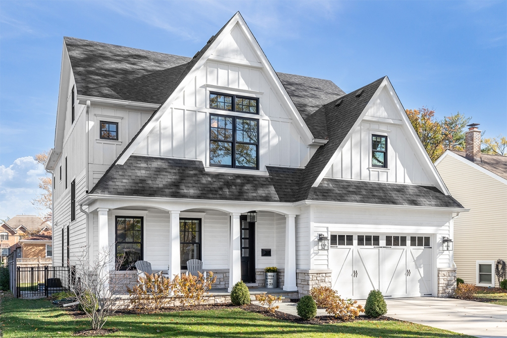 Building Solutions offered by MiTek - The exterior of a single-family home