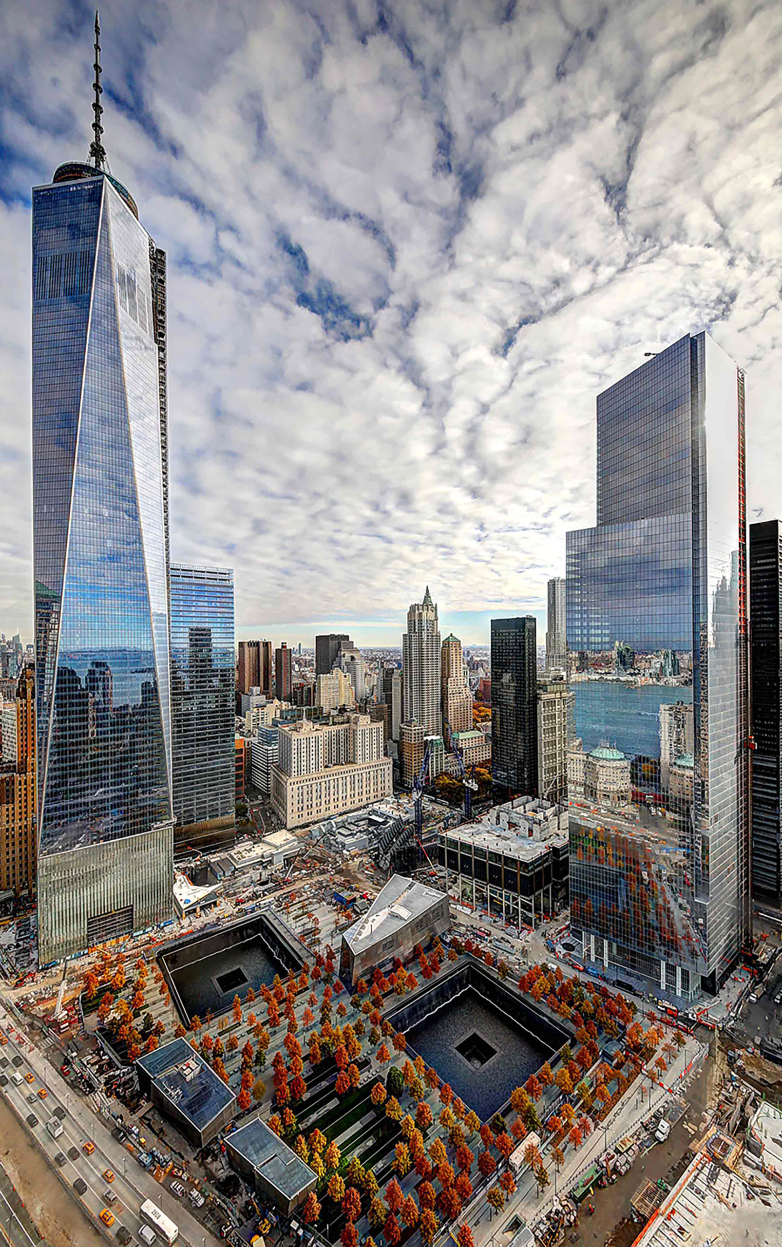 Structural Framing Realignment Press Release by MiTek - Freedom Tower and Tower Four in New York City with Benson Curtain Wall