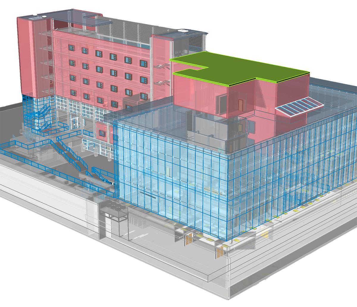 MiTek Estimating Software - Screenshot of 3D model estimating software