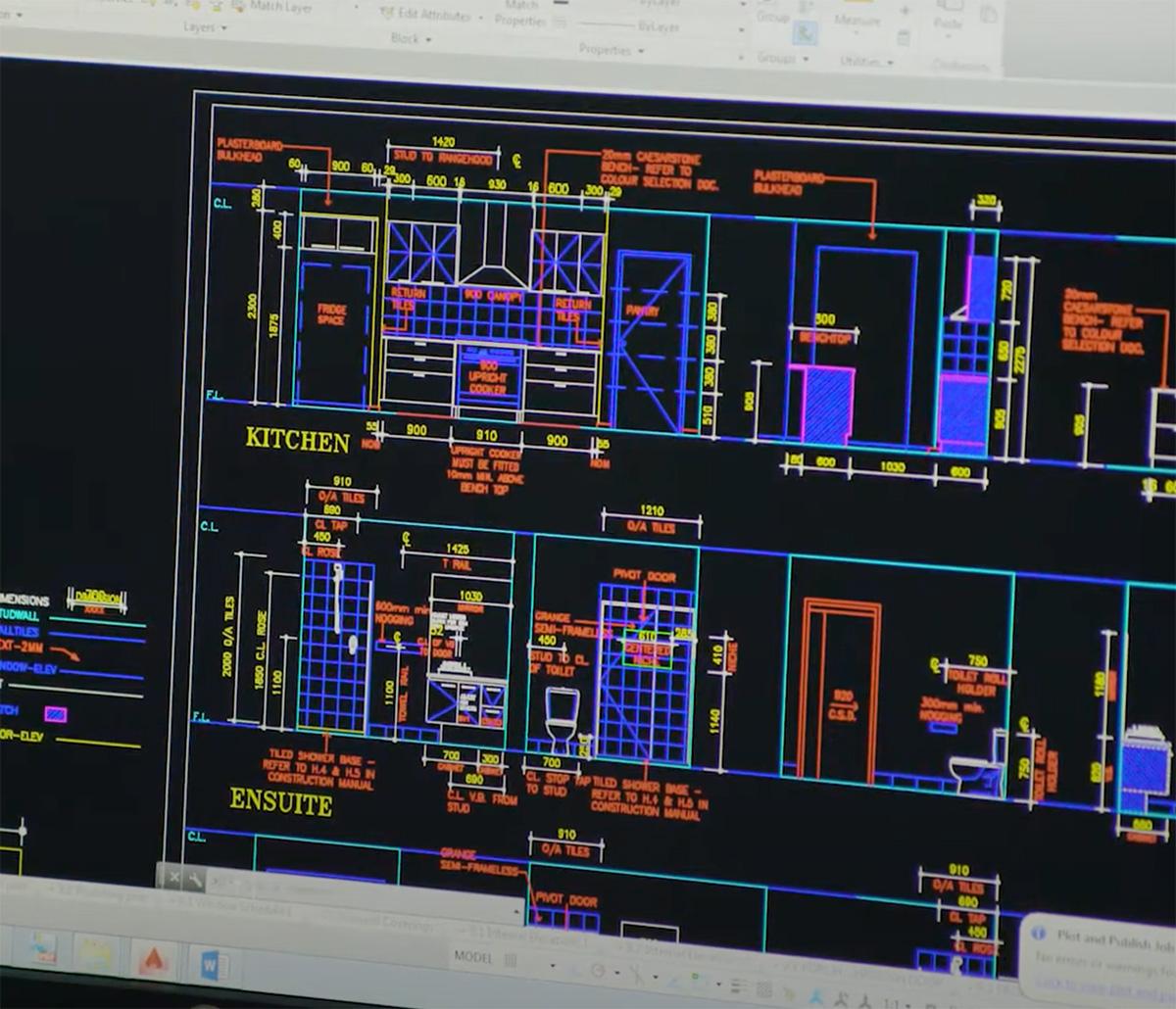MiTek Energy Modeling Services - Screenshot of energy modeling software