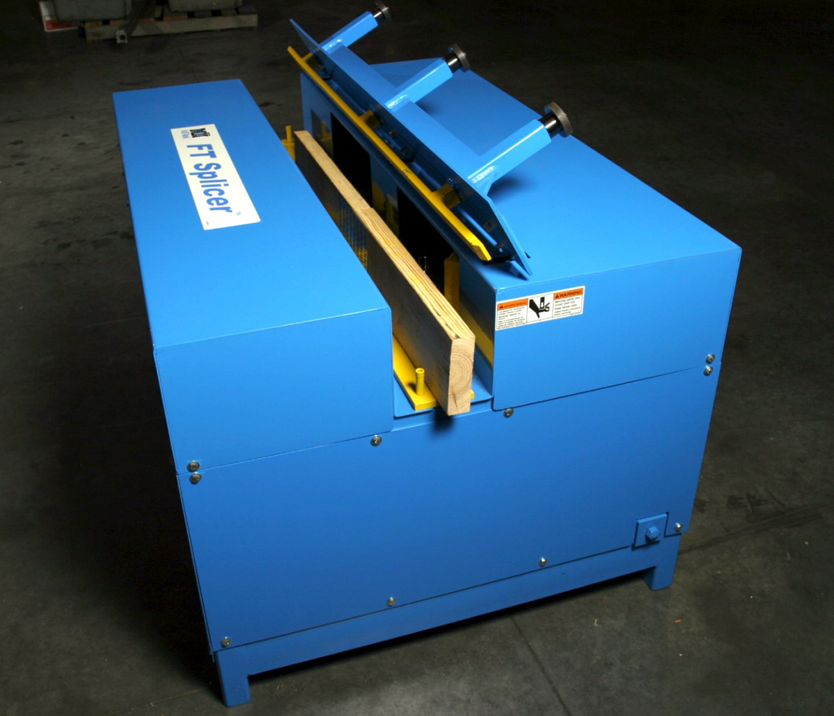 MiTek FT Splicer Automated Solutions - FT Splicer in facility