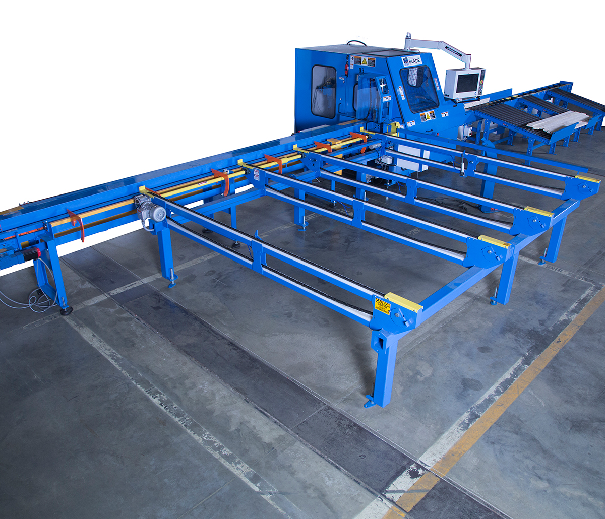 MiTek Matchpoint Blade Automated Solutions - Matchpoint Blade in warehouse