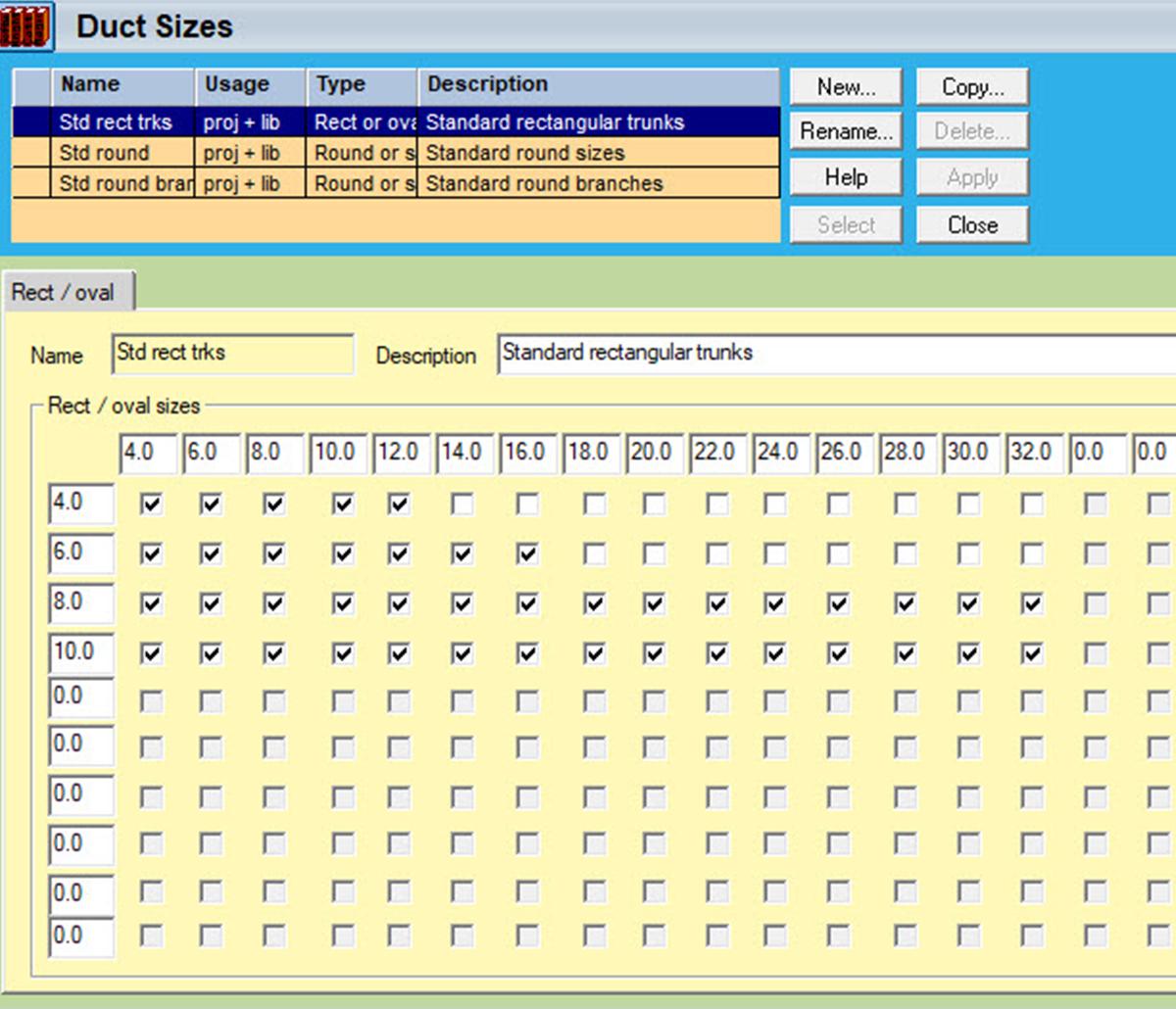 MiTek Wrightsoft Duct Placement Design Software - Screenshot of Wrightsoft duct placement software